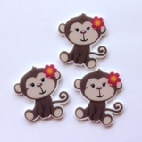 Monkey Flatback Resin - out of stock