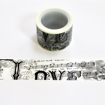 * Music Washi Tape - Wide