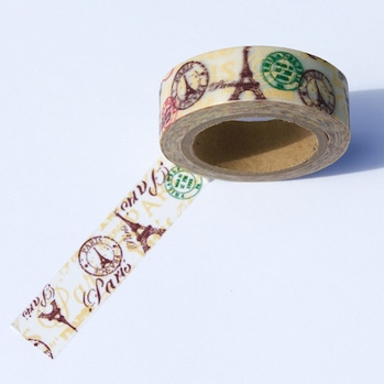 Paris Washi Tape
