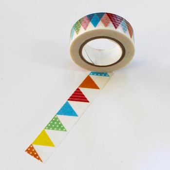 Pennant Washi Tape - Out Of Stock