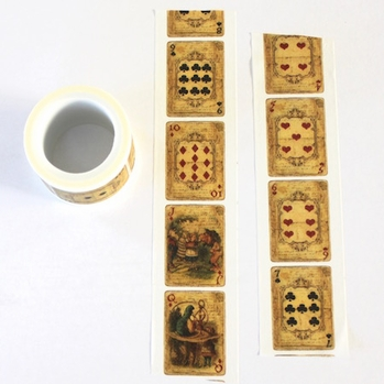 Playing Card Washi Tape - Wide