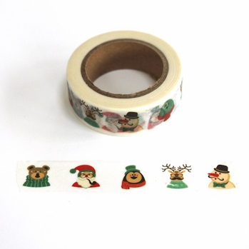 Santa & Friends Washi Tape