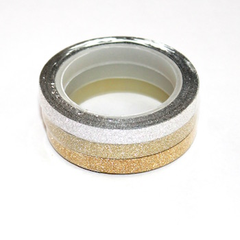 Skinny Glitter Washi Tape - out of stock