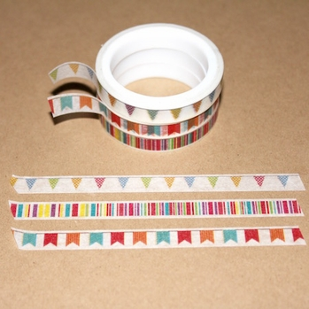 Skinny Washi Tape - Banner - out of stock