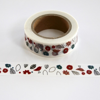 Spring Bird Washi Tape