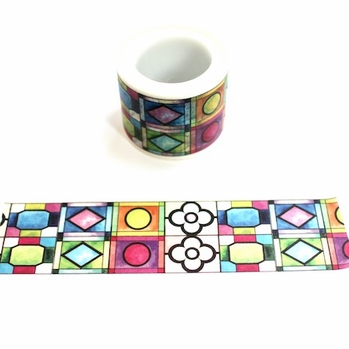 *Stained Glass Washi Tape - Wide
