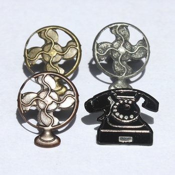 Telephone & Fan Brads
