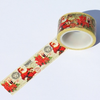 Wide Santa Washi Tape