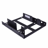 "(18-Pack) 2.5"" to 3.5"" Dual Hard Drive Bay Mounting Kit - Convert 2 Laptop Hard Drives/SSDs into a Desktop Hard Drive!"