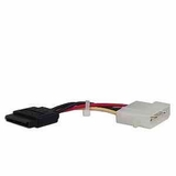 "4"" ATX Molex Power to SATA Power Adapter - Convert ATX to SATA! - Bulk Cable"
