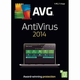 AVG AntiVirus 2014 for 1PC 1 Year Download