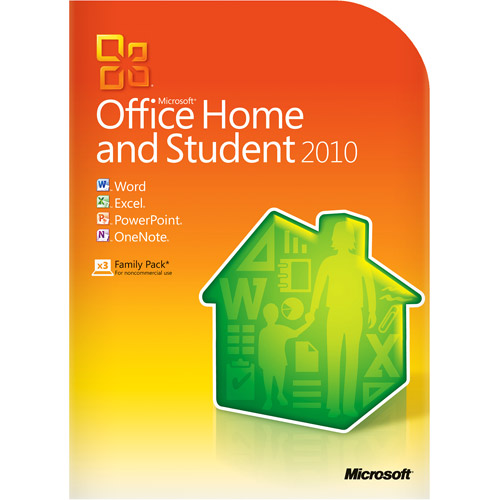 Купить Microsoft Office 2010 Home and Student Retail Box 3 PCs NEW на eBay