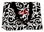Black & White Swirl Eco Chic Reusable Bags - Personalized Free!