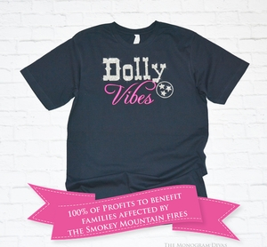 Dolly Vibes T-shirt to Benefit Dolly Parton's My People Fund