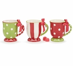 Festive Ceramic Christmas Mugs - Choose from 3 Styles!
