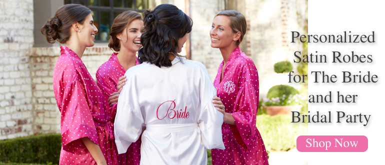 Personalized Bridesmaids Robes
