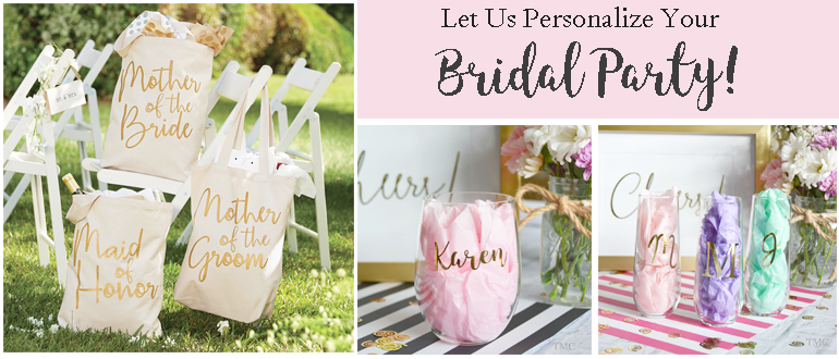 Personalized Bridal Party Gifts