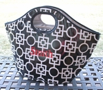 Insulated Cooler Tote - Black Leta