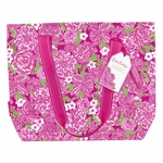 Lilly Pulitzer Insulated Cooler Tote with Free Bottle Opener - May Flowers