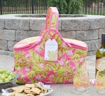 Lilly Pulitzer Insulated Party Cooler Basket - Jungle Tumble