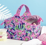 Lilly Pulitzer Insulated Party Cooler Basket - Trippin' & Sippin' Navy