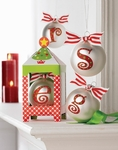 Monogram Christmas Ornament - Gift Boxed