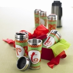 Monogram Travel Mug & Tumbler - Christmas Design