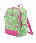 Monogrammed Backpack - Preppy Daisies - On Sale This Week Only!