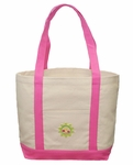 Monogrammed Beach Tote Bag - PERSONALIZED FREE