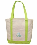 Monogrammed Beach Tote Bag- PERSONALIZED FREE