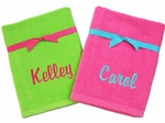 Monogrammed Beach Towels - Personalized for You!