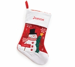 Monogrammed Christmas Stockings - Personalized Free! On Sale This Week Only!!!