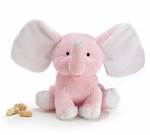 Monogrammed Elephant for Girls - Cute Personalized Baby Gifts!