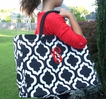 Monogrammed Geormetric Style Tote - Personalized Free!