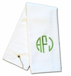 Monogrammed Golf Towel - Personalized Just for You!