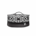 Monogrammed Insulated Pie Carrier or Round Casserole Tote