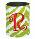 Monogrammed Coolies - Christmas