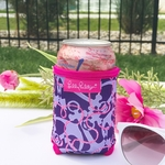 Monogrammed Lilly Pulitzer Can Cooler - Booze Cruise