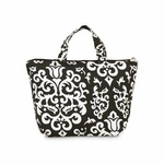 Monogrammed Lunch Bag - Vintage Glam Insulated Lunch Tote