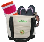 Monogrammed Personalized Beach Bag- Personalized FREE!