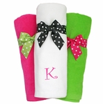 Monogrammed Beach Towels - 5 Colors