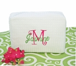 Monogrammed Personalized Cosmetic Bag