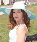 Monogrammed Two Tone Sun Hat