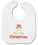 My First Christmas Bibs - My First Christmas Gifts