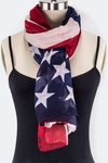 Patriotic Flag Scarf