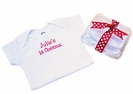 Personalized Christmas Onesies- Gift Packaged