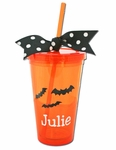 Personalized Halloween Tumbler - Great Party Favor!