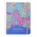 Personalized Lilly Pulitzer Large Agenda - Lagoon Party