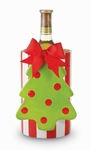 Whimsical Christmas Tree Wine Cooler