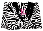Zebra Print  Eco Chic Reusable Bag - Personalized Free!